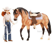 Breyer Traditional Series My Favorite Horse #1410 Let's Go Riding-Western! -New-Factory Sealed