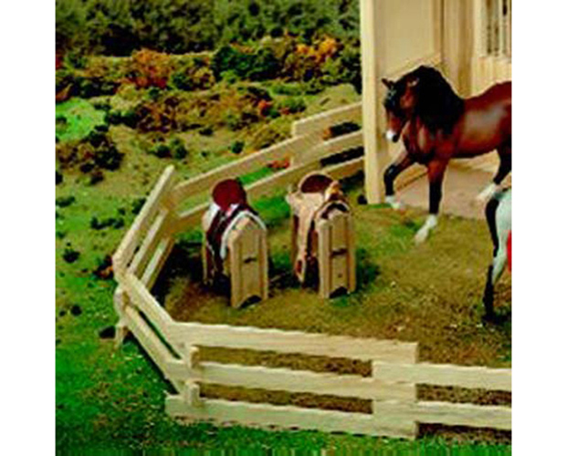 Breyer Traditional Series #281 Saddle Stand! (Horse and Saddles Sold Separately) -New-Factory Sealed