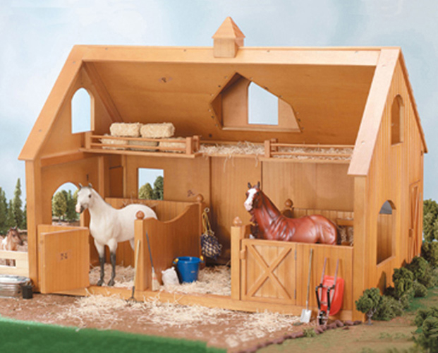 Breyer Traditional #302 Deluxe Wood Barn w/ Cupola (Horse & Accessories Sold Separate) -New-Factory Sealed