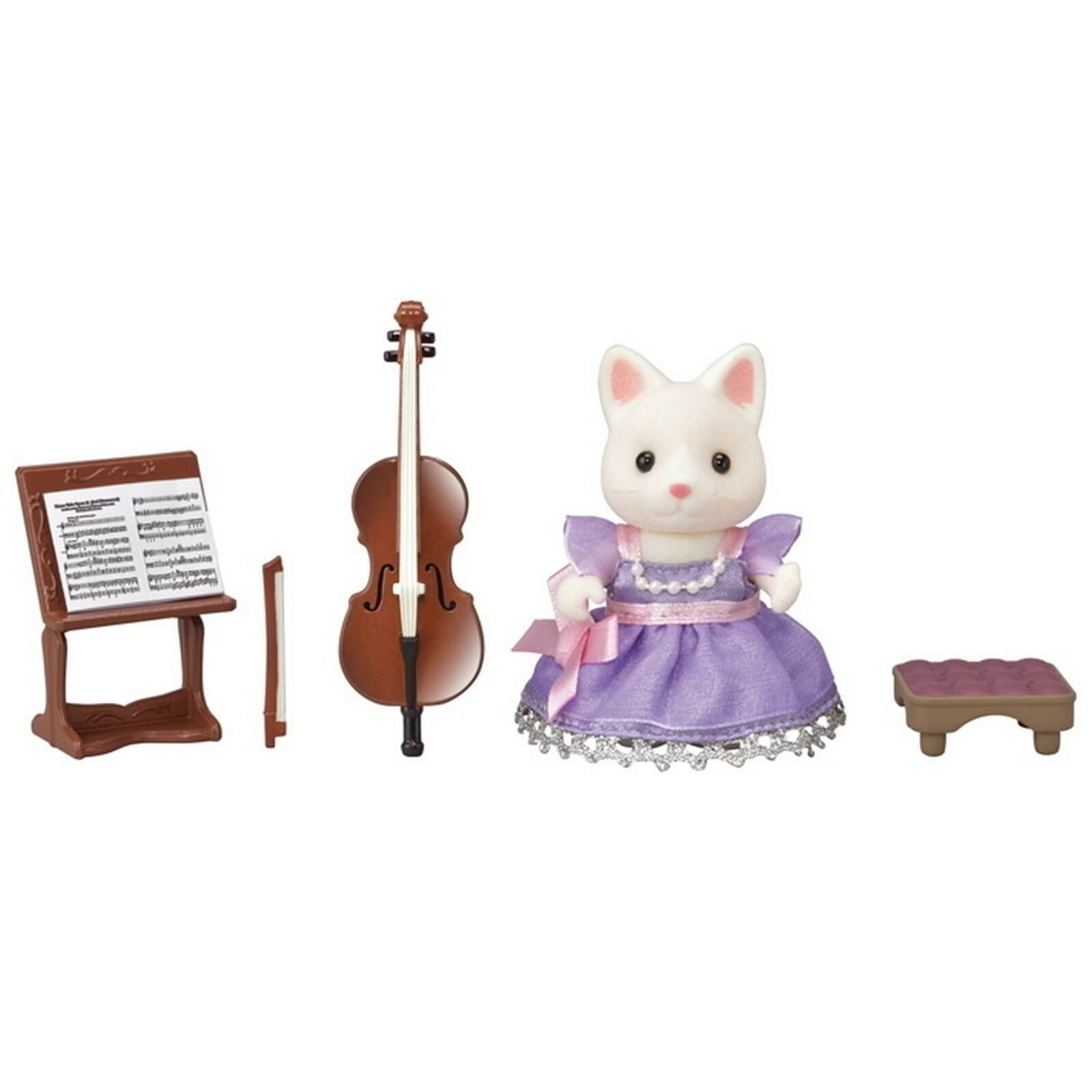 CALICO CRITTERS #CC3024 Cello Concert Set - New Factory Sealed