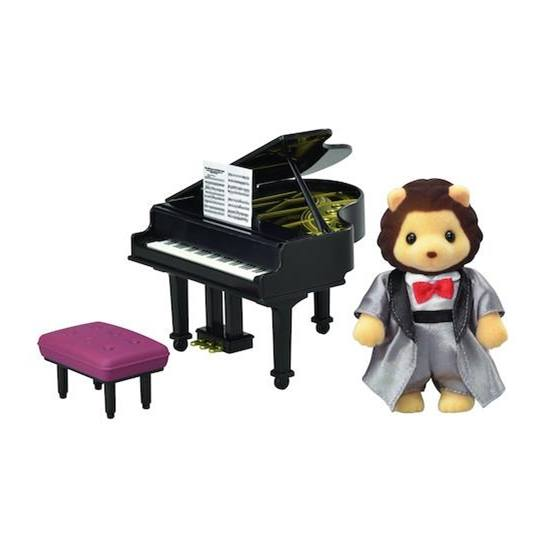 CALICO CRITTERS #CC3025 Grand Piano Set - New Factory Sealed