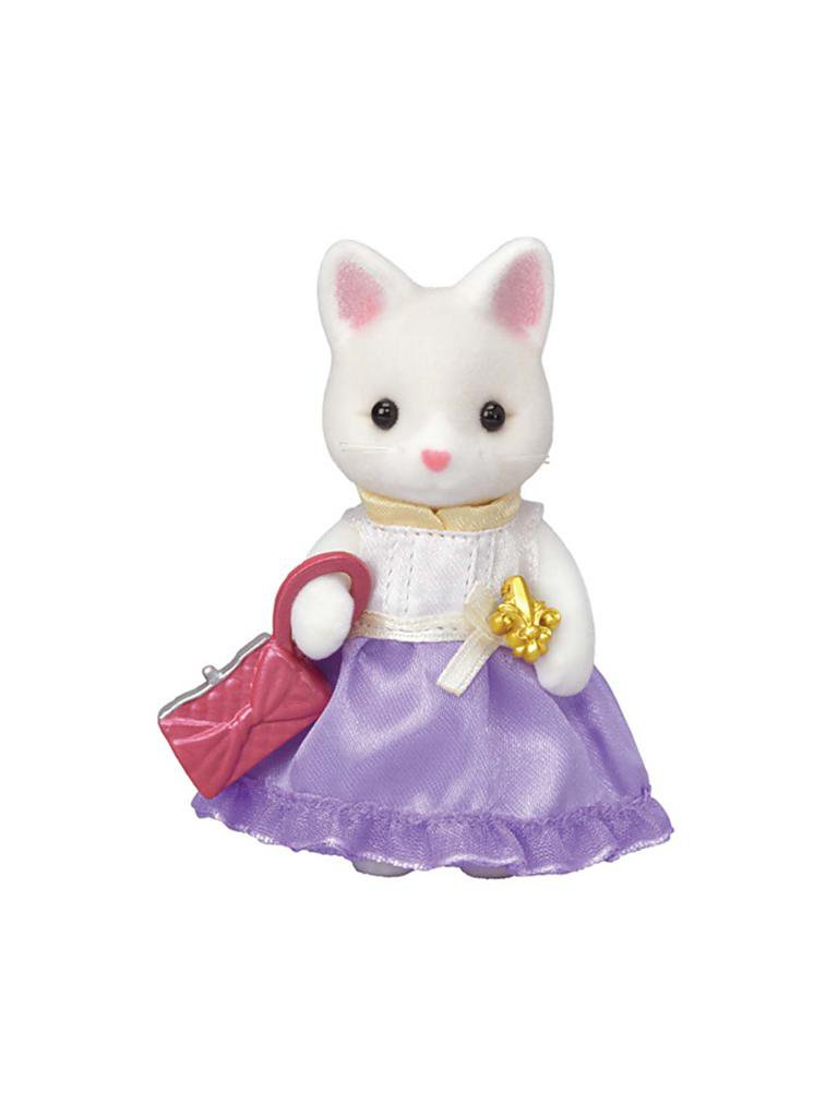 CALICO CRITTERS #CC3027 Town Girl LuLu Silk Cat - New Factory Sealed