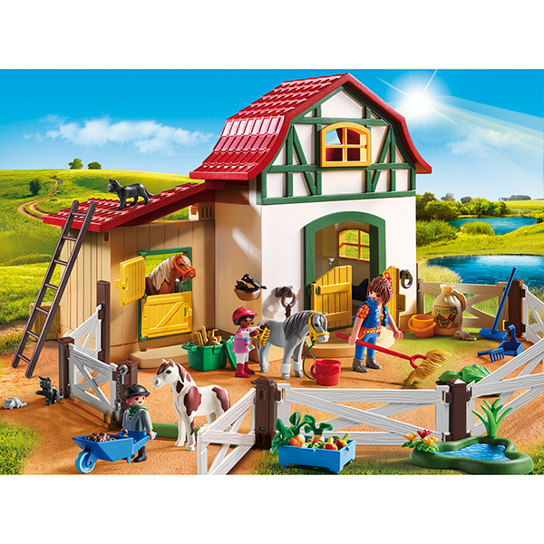 Playmobil #5684 Pony Farm - New Factory Sealed
